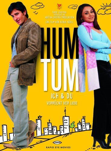 HUM TUM  Hindi Movie DVD  SAIF ALI KHAN   RANI