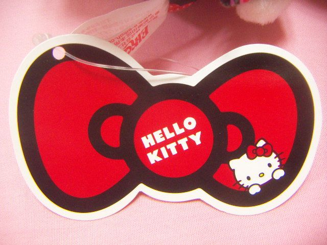 Sanrio Hello Kitty Heart Black Kimono Plush / Japan Amusement Game