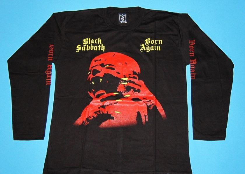 Black Sabbath   Born Again T shirt Long Sleeve