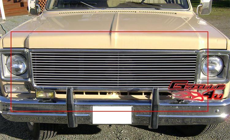 73 80 Chevy C/K Pickup/Suburban/Blazer Billlet Grille S