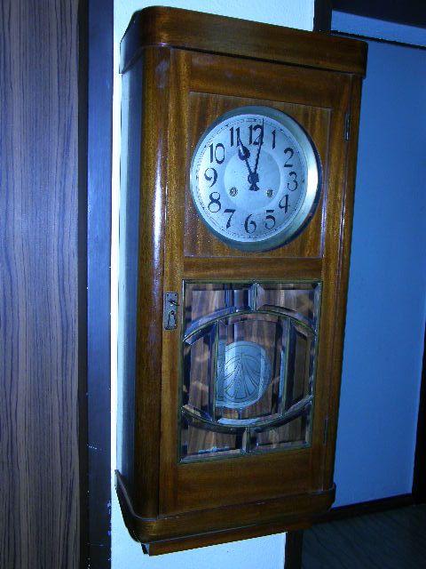 Киев, шевченковский вчера годинник настінний (часы настенные)з боєм густав беккер (gustav becker.